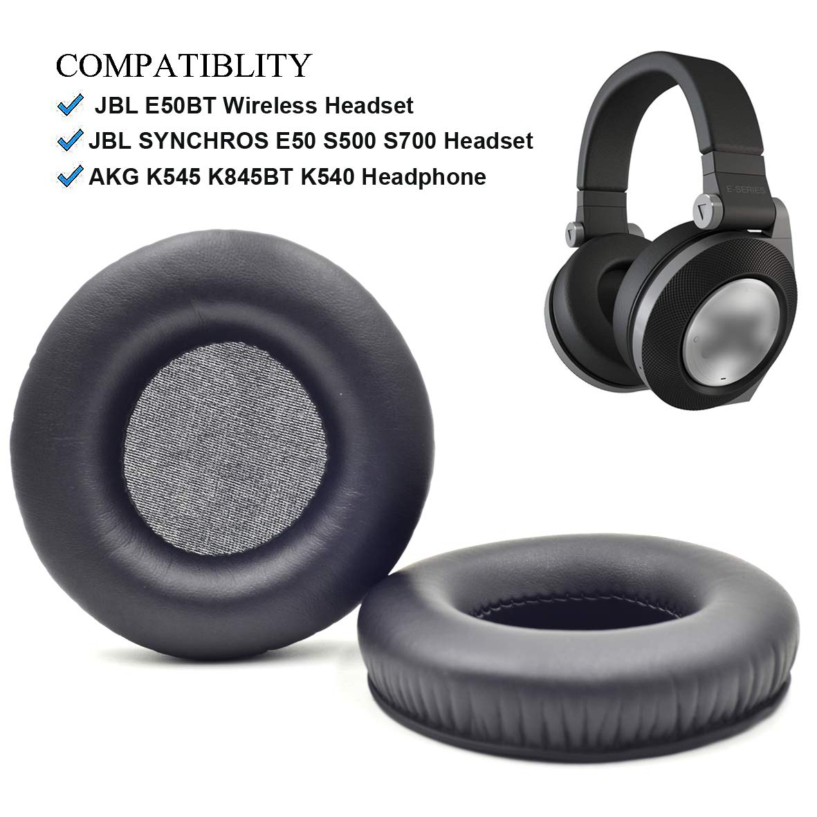 Almohadillas Jbl Synchros E50bt E50 S500 S700