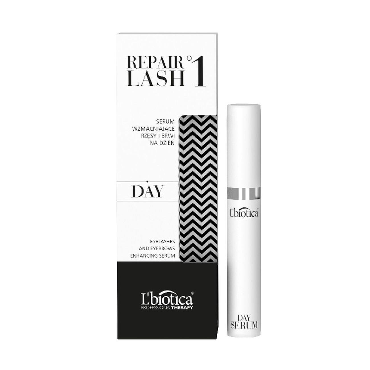L'Biotica Repair Lash 1 Day Enhancing Serum for Eyelashes and Eyebrows 7ml L' biotica