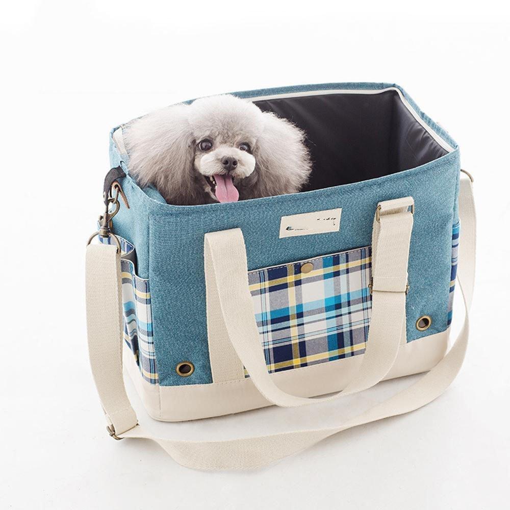 Daeou Pet Backpack Portable Out Messenger Bag 39x19x30cm