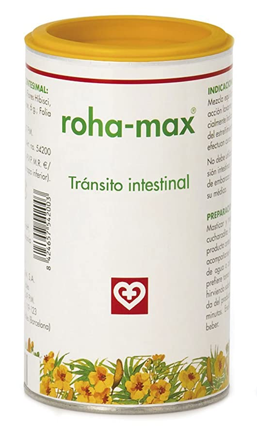 Roha-Max Tránsito Intestinal - Suplemto alimenticio, 130 gr
