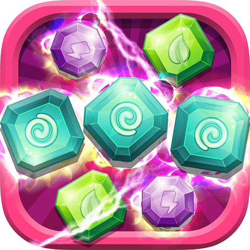 Gems Crush King - Get Top Score In Match-3 Puzzle Mania 4 Kid's