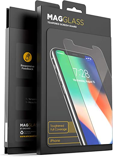 MagGlass iPhone 11 Pro Max/iPhone Xs Max Screen Protector Tempered Glass (Toughened UHD)