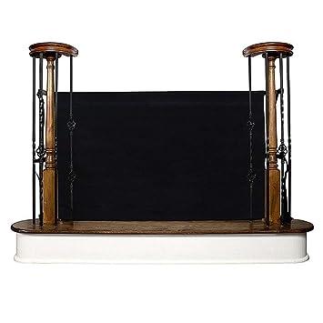 Barrera de puerta para valla de jardín, valla para valla o escalera, protección para