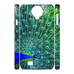 ANCASE Cell phone Cases Peacock Hard 3D Case For Samsung Galaxy S4 i9500