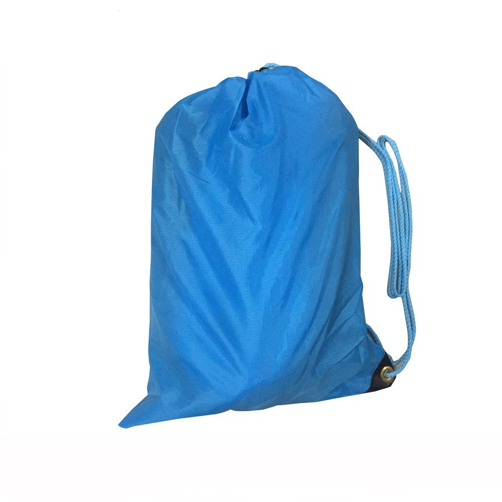 amazoncom black lazy bag laybag lay bag sleeping bag fast inflatable camping air sofa sleeping beach bed banana lounge bag air bed lounger home u0026