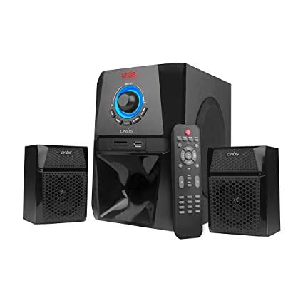 Artis Ms204 2 1 Ch Wireless Multimedia Speaker System With Fm Sd Aux