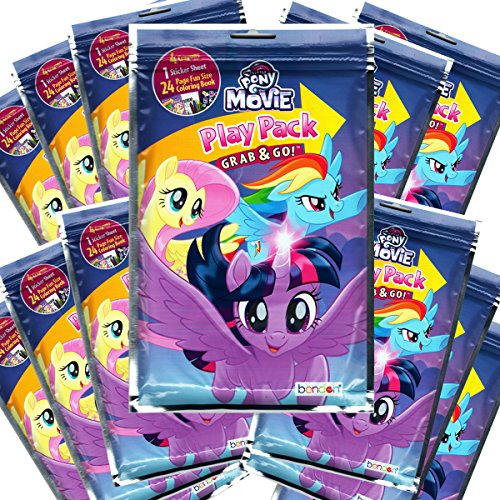 Nickelodeon My Little Pony Grab and Go Play Packs Party Favors (Pack of 12)