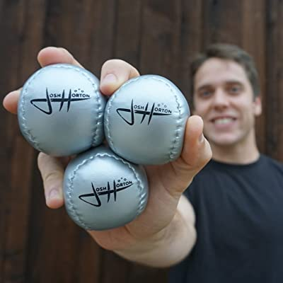 Zeekio Josh Horton Beginner Juggling Ball Set - Perfect for Beginner jugglers of All Ages: Toys & Games