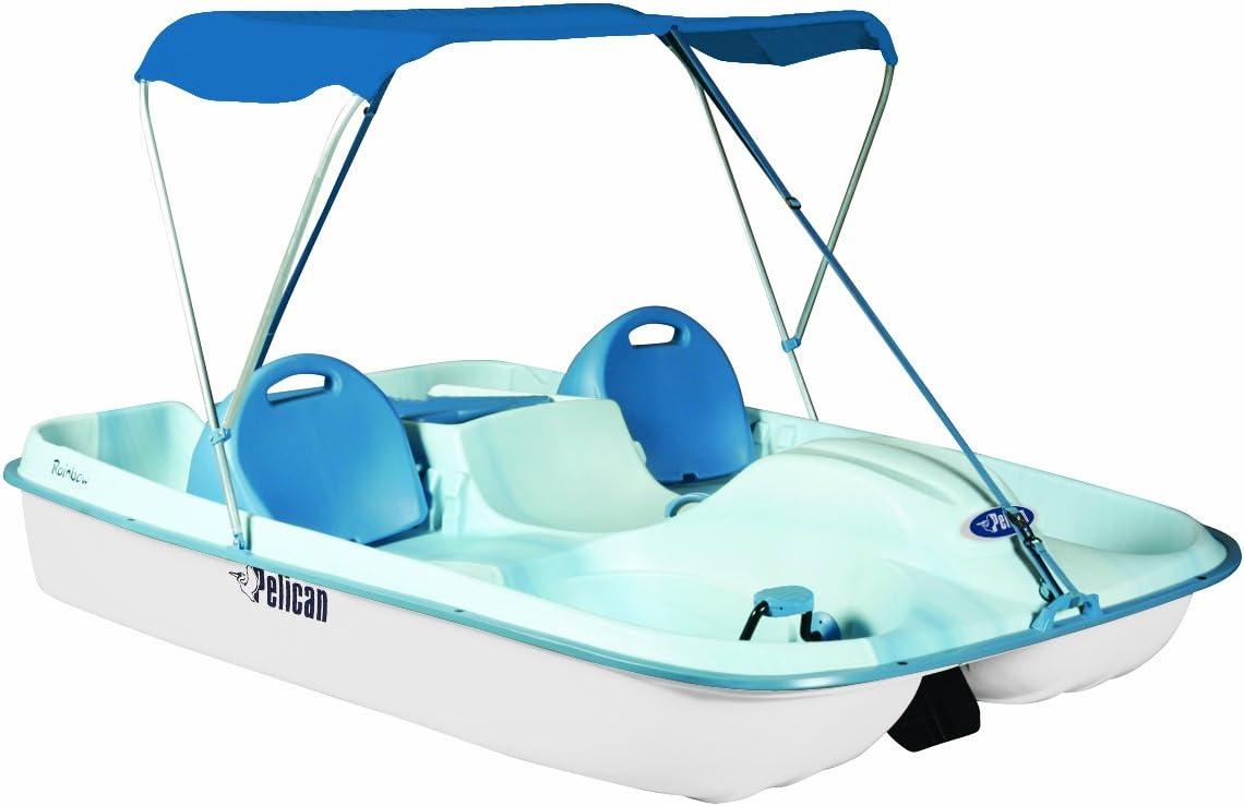 HO Scale Figure Preiser 10682 Pedal Boat w//Family Set #1 Blue, White