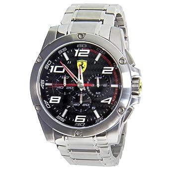 buy scuderia ferrari \u0027paddock\u0027 chronograph bracelet watch, 46mm