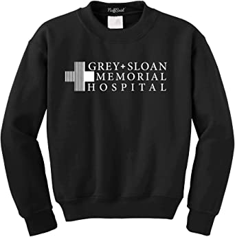 Premium Quality NuffSaid Grey Sloan Memorial Hospital Hooded Sweatshirt Sweater Hoodie Pullover