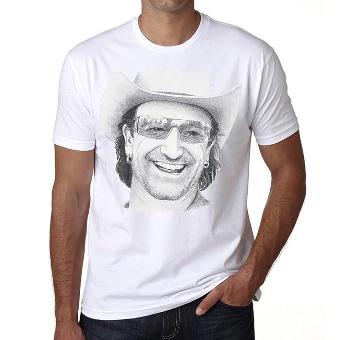 One in the City U2 Bono – Camiseta para Hombre, Camiseta para Hombre, Regalo
