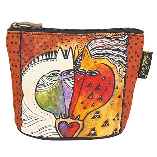 Laurel Burch Mythical Mares Cosmetic Clutch Pouch Love - Horses Laurel Burch Mythical