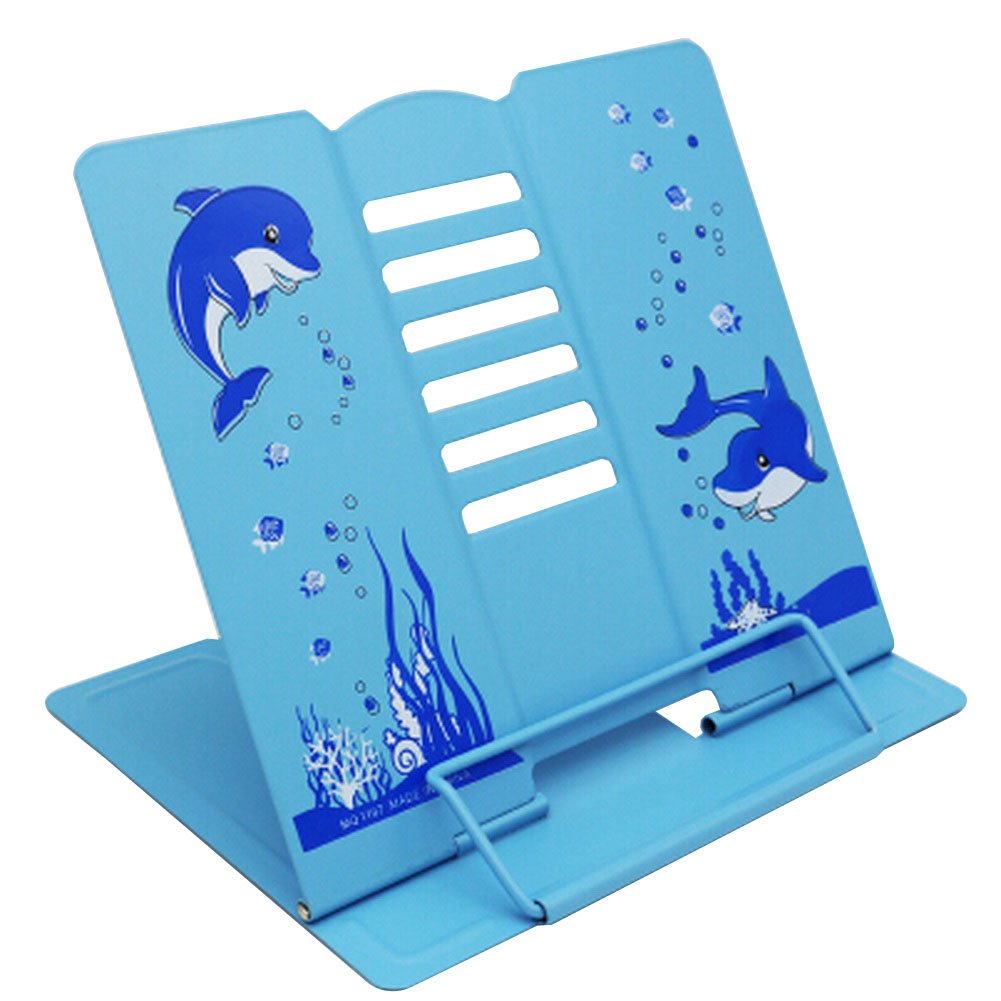Libro Soporte pie de libro de pie Soporte Soporte de libro ajustable de plegable Cute [R] 25f4f2