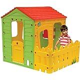 Casetta bambini in PVC Stalletta- 1.18 x 1.46 x 1.27 m