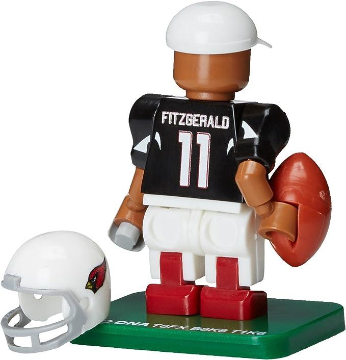 Larry Fitzgerald Arizona Cardinals OYO Sports Toys Color Rush Figure Minifigure