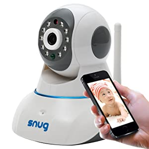 Snug Baby Monitor WiFi Video Camera with Audio for iPhone Samsung