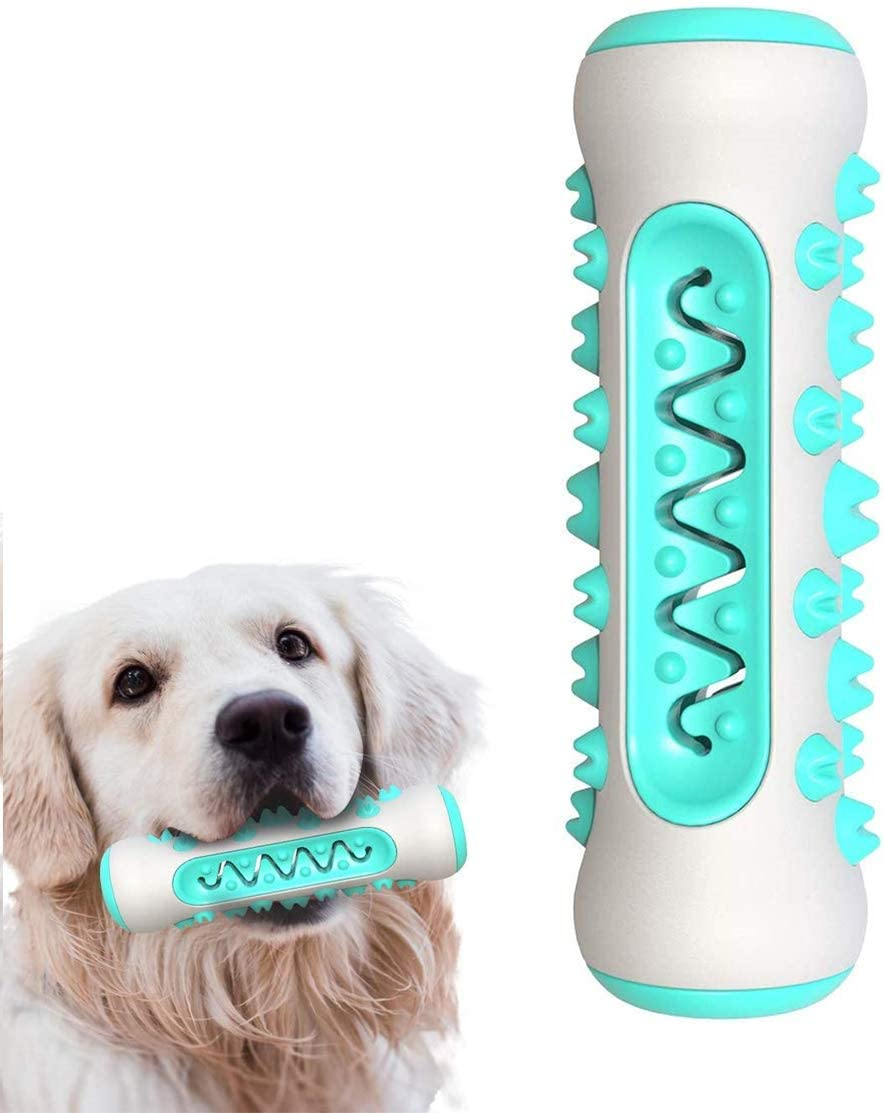 Dog Toothbrush Chew Toy, Pet Molar Stick,Dog Food Slow Feeder Puppy Teething Toys for Small Medium Large Dog, IQ Training Bite-Proof Toy,Puppy Teething Chew Toys,360 Clean Teeth