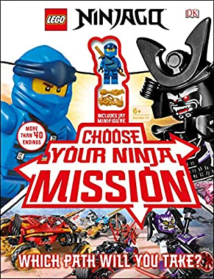 Amazon.com: LEGO NINJAGO Choose Your Ninja Mission: With ...