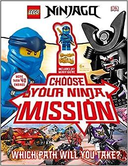 Lego Ninjago Choose Your Ninja Mission: With Ninjago Jay ...