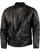 CE Armoured Mens Leather Motorcycle Jacket By Skintan