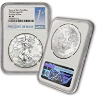 2020 (W) 1 oz American Silver Eagle Coin MS-70 S$1 (First Day of Issue - Struck at West Point Mint) NGC by CoinFolio $1…