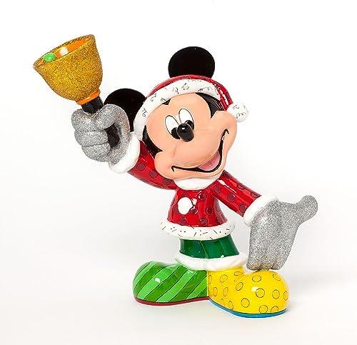 Enesco Disney by Britto Gift Gift Santa Mickey Figurine, 8.25-Inch