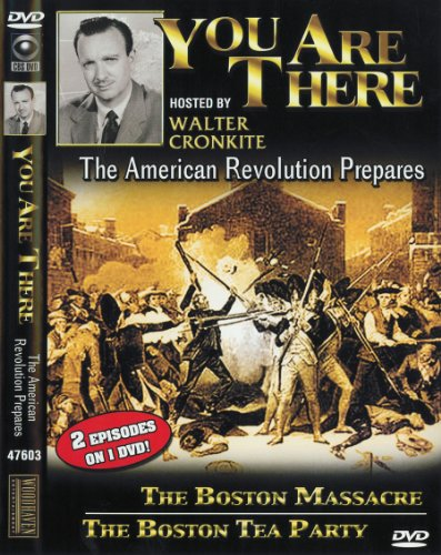 You Are There: The American Revolution Prepares (Pyle Dvd Cd Player)