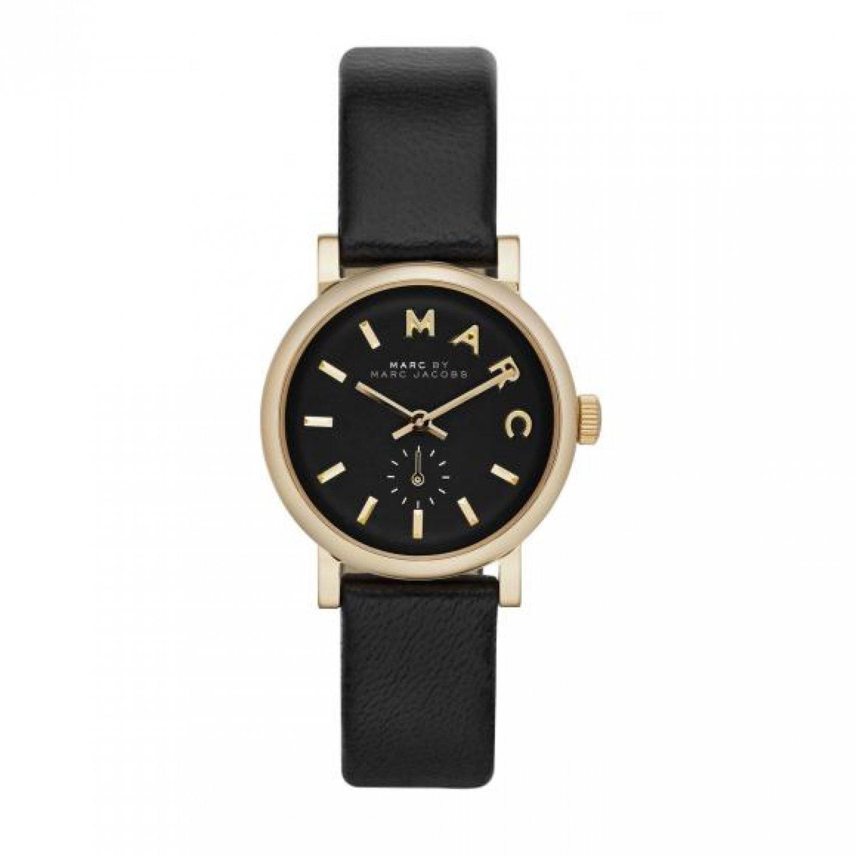 Marc Jacobs Damen-Armbanduhr XS Analog Quarz Leder MBM1273