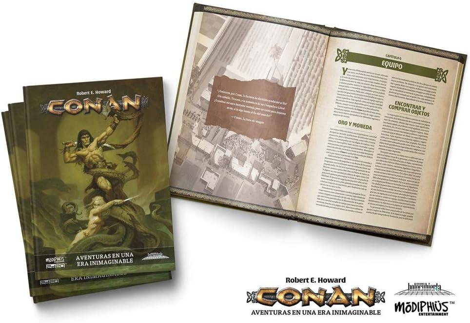 Holocubierta- Conan Libro básico, Color (HOLCON01): Amazon.es: Juguetes y juegos