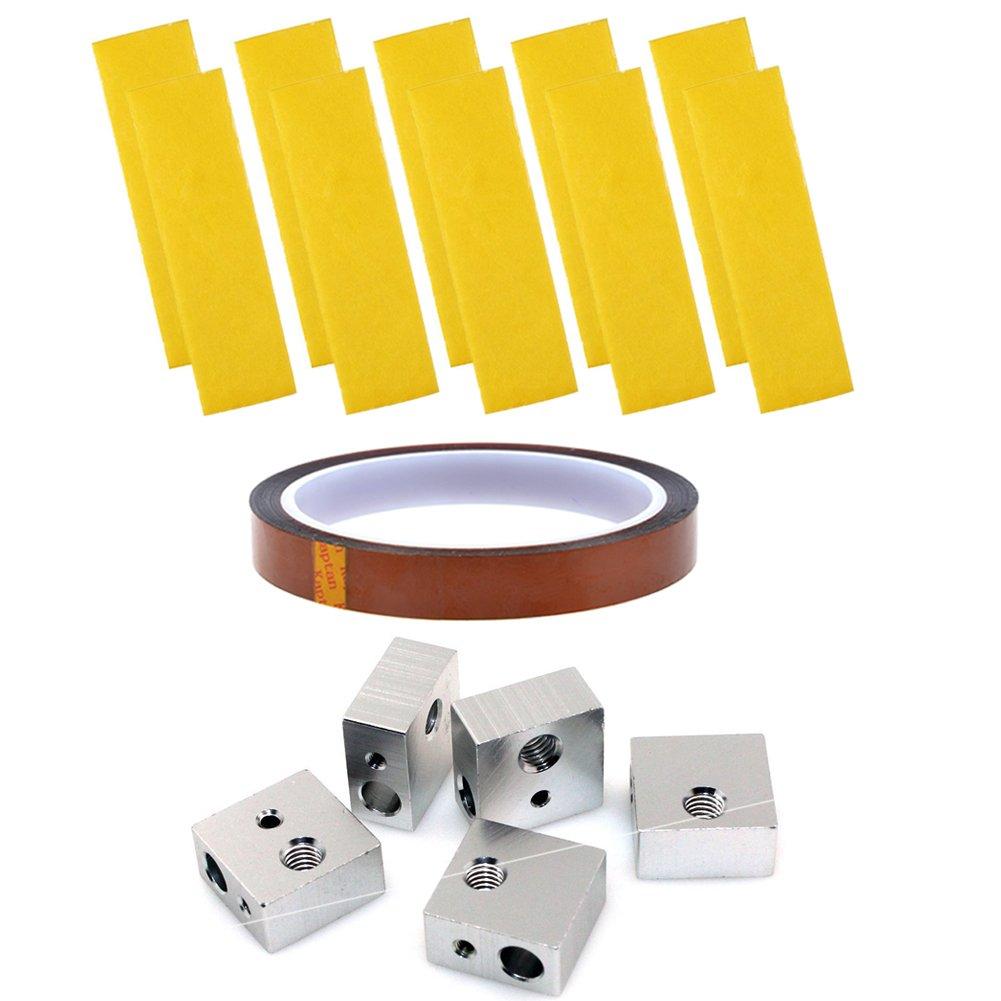 ivelink adhesivo dorado cinta Kapton cinta y 2 mm algodón de ...