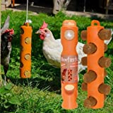 Hentastic Chick Sticks Feeder & Pack of 6 Sticks - A Hanging Feeder With Boredom Busting Treats which helps prevent feather picking