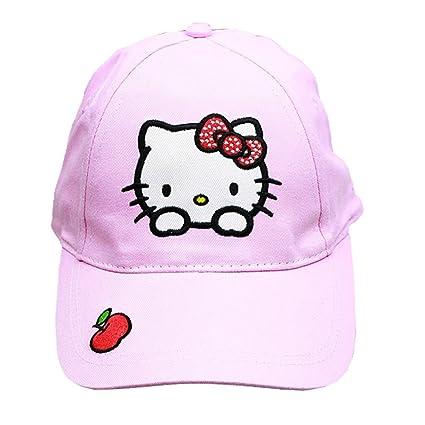 36dc7f8cf Amazon.com: Sanrio Hello Kitty Hat - Hello Kitty Baseball Cap ...