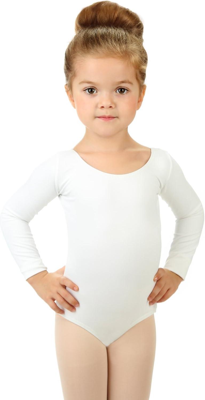 FONLAM Justaucorps de Ballet Gymnastique pour Fille L/éotard Body Gymnastique Danse Classique Manche Longue Fille Enfant