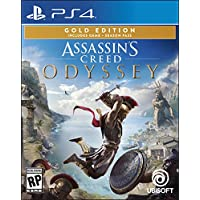 Assassin's Creed Odyssey - PlayStation 4 Gold Steelbook...