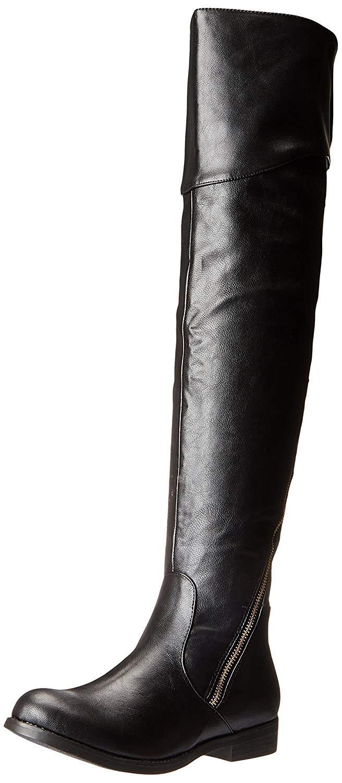Wild Pair Women's Randle Boot, Black, 7 M US