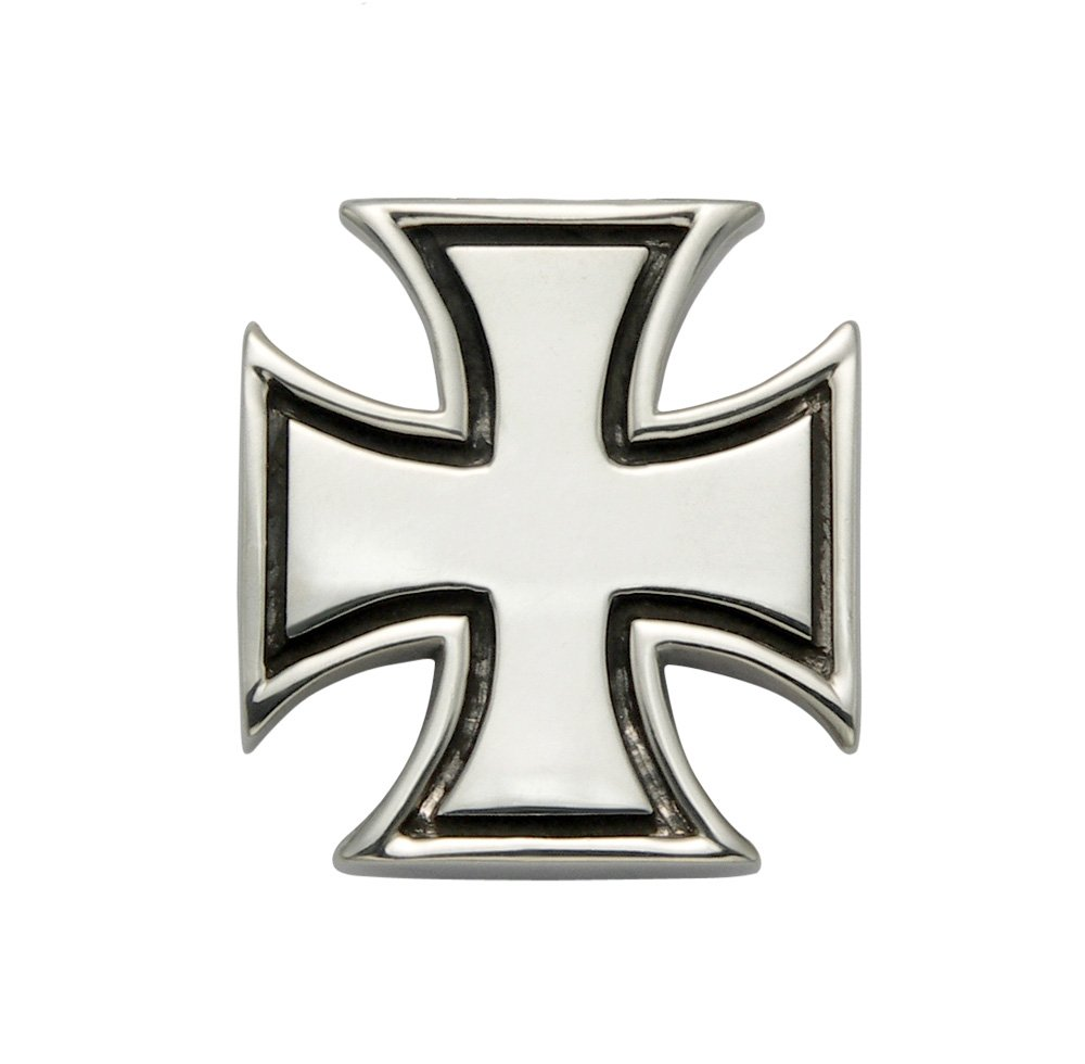 Large Sterling Silver Pattee Cross Pendant