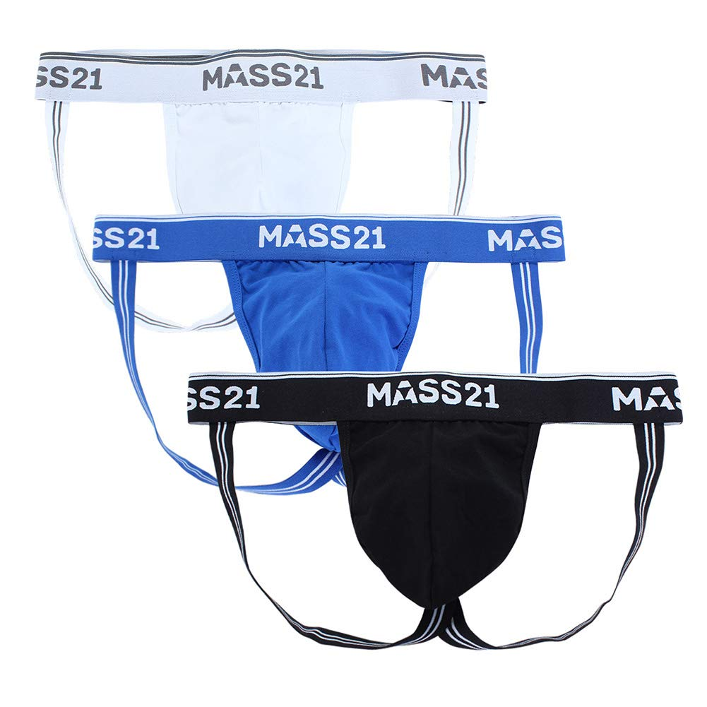 MASS21 Men's Cotton Underwear Comfy Pouch Jockstrap Supporter