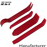Auto Door Clip Panel Trim Removal Tool Kits for Car Dash Radio Audio Installer Pry Tool 4Pcs