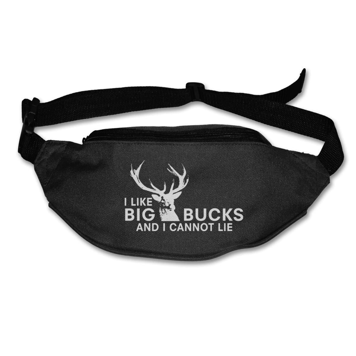 I Like Big Bucks And I Cannot Lie Sport Waist Pack Fanny Pack Adjustable For Run