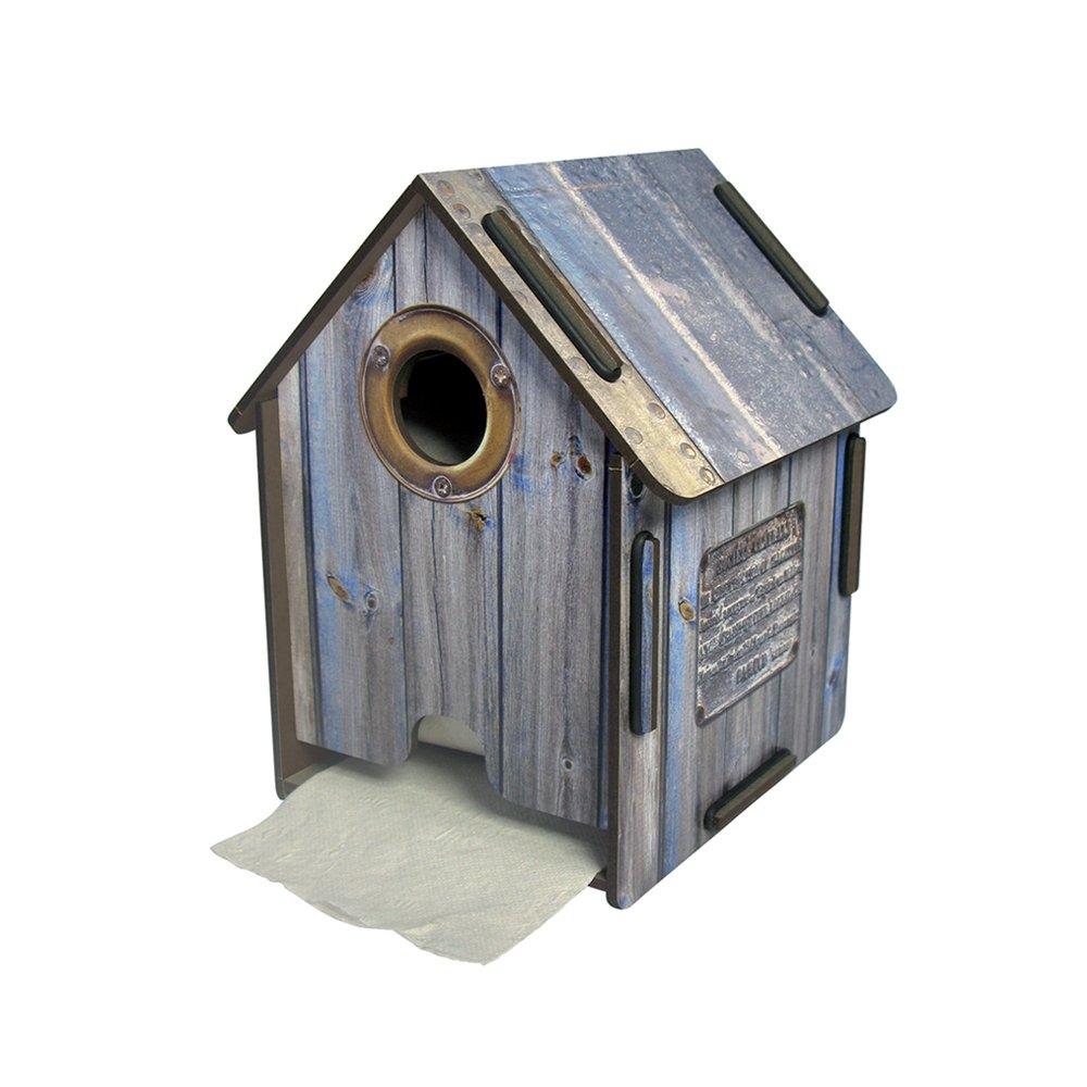 Toilettenpapierhalter Bretterbude! Das Zuhause fü r Ihre Rolle Toilettenpapier! Werkhaus