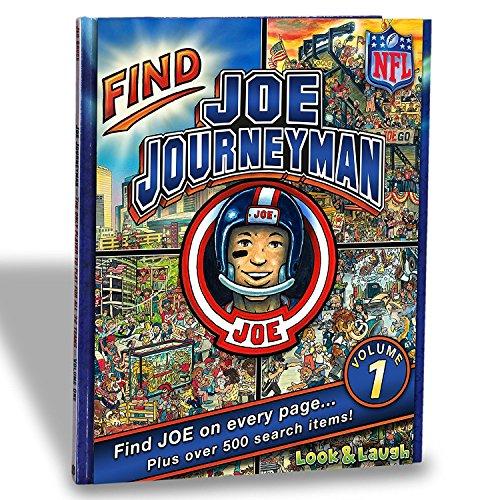 NFL All 32 Teams Look & Laugh Joe Journeyman Search Adventure (Volume 1)