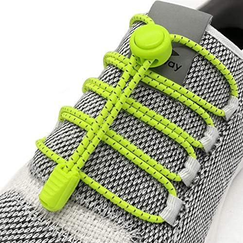 Elastic No Tie Shoelaces Reflective