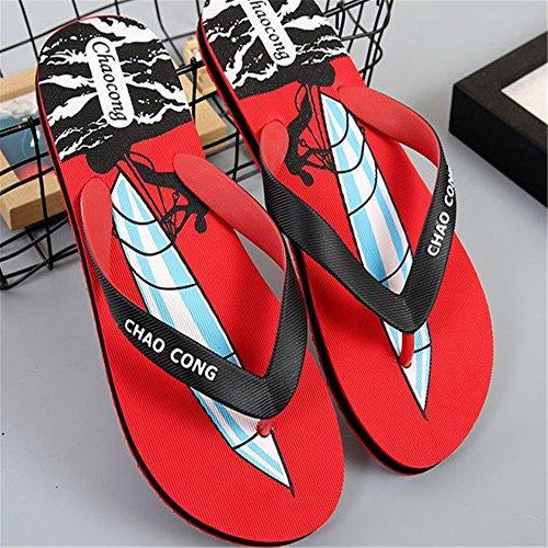Rápido Zapatillas En Interiores 41 Zapatillas Playa De Azul Zapatillas para 3 Secado para Al tamaño Color La Aire EU Antideslizantes Libre Rojo Piscina Wangcui 1 La Ligeras d5Xwn8qwU
