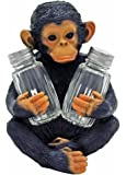 Chimpanzee Salt and Pepper Shaker Holder Figurine