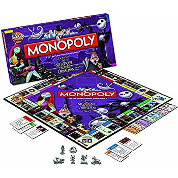 Amazon.com: Monopoly Board Game - The Nightmare Before Christmas ...