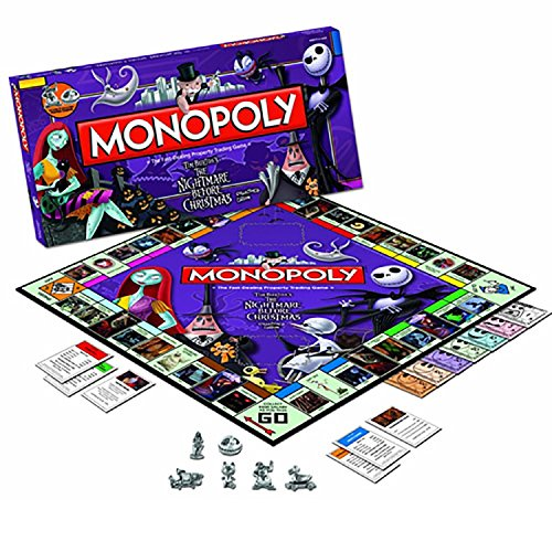 USAopoly Toy - Board Game - The Nightmare Before Christma...