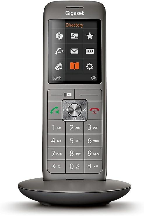 Gigaset CL660HX Analog/DECT Telephone Identificador de Llamadas Antracita: Amazon.es: Electrónica