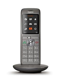 741279d82208e Gigaset CL660HX - Téléphone fixe sans fil - combiné supplémentaire - Gris  Anthracite