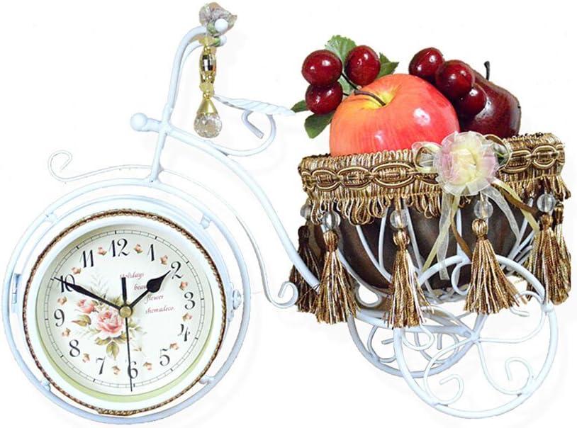 BEITE- Reloj de escritorio de la bicicleta Reloj de bicicleta de ...